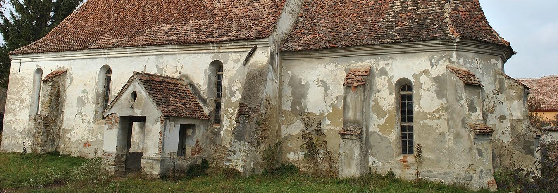 Notsicherung der Kirchenburg in Irmesch